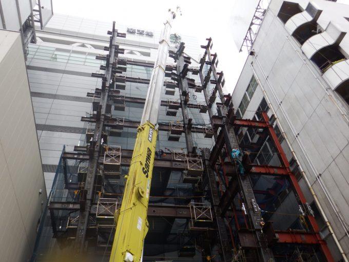 錦糸町商業ビル新築工事
