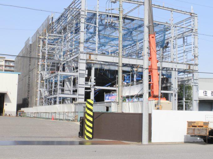 ニッコー港16番倉庫立替計画