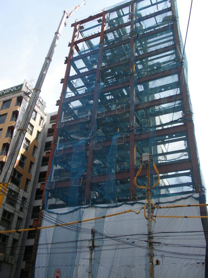 (仮称)六本木5丁目計画新築工事