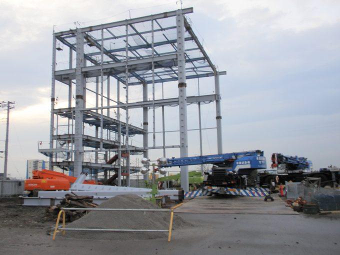 タダノテクノ東日本新木場工場新築工事